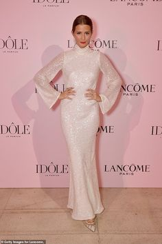 Millie Mackintosh sparkled in the Galvan Moonlight Oasis Dress in Ivory to a Lancôme launch event in Paris on July Millie Mackintosh, Event Pictures, Oasis Dress, Pink Gowns, Old Hollywood Glamour, Red Carpet Fashion, Pretty In Pink, High Fashion, Product Launch