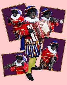 Muzikale Piet. Accordeon, Zingende zaag, klarinet, trompet en meer. Rondlopend in uw winkelcentrum?