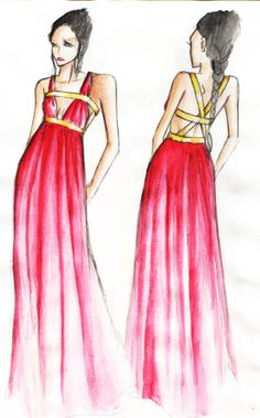 Ancient Greek clothing. Like without the first gold line on the top