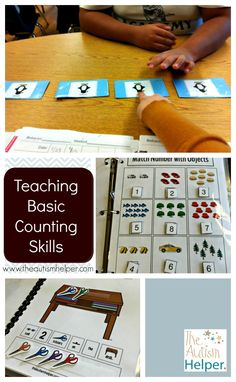 Counting leads to so many functional skills & increased independence! There are tons of ways to develop & teach this skill, so today's post highlights some of my favorite ways to work on counting: