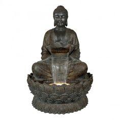 Giant Buddha vesiaihe, 136 cm Giant Buddha, Feng Shui, Statue, Led, Sculptures, Sculpture