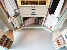 Walk In Closet 01 Begehbarer Kleiderschrank, Ankleidezimmer, Wohnung  Einrichten, Speicher, Schlafzimmer,