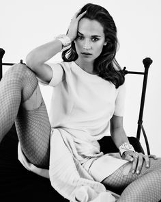 Alicia Vikander appeared in television shows and Swedish short films, most notably in the TV drama Andra Avenyn which aired back in 2008 to 2011. Description from celebrities.listofthis.com. I searched for this on bing.com/images