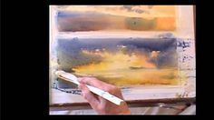 Ev Hales Watercolor Demonstration 1 - Drama At Sunrise