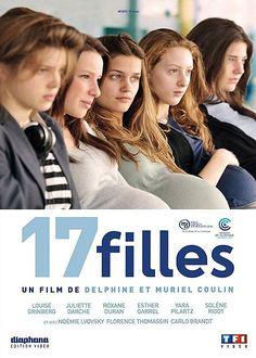 """""""17 filles"""" de Delphine & Muriel Coulin, programmé le 09/07 à 19h et le 23/07 à 16h30 http://www.forumdesimages.fr/les-films/les-programmes/la-jeune-fille/17-filles"""