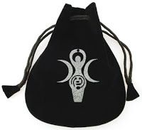 Mystic Waters New Age Shoppe: Goddess of Earth Velveteen Bag