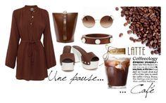 """Caffeine Fix: Coffee Break"" by igiulia on Polyvore featuring All That Remains, Giuseppe Zanotti, TradeMark, Dolce&Gabbana, Lizzie Fortunato and coffeebreak"