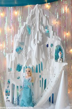 Disney FROZEN Party Decor Ideas! - Bubbly Nature Creations