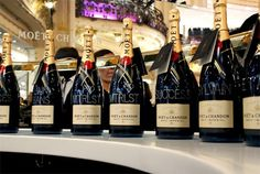 Largest Champagne house in France, founded in 1743 ((2,500 acres) of vineyards, and annually produces approximately 26,000,000 bottles of champagne.)
