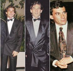 Elegance everywhere hellip; Ayrton Senna, proving that the racingsuit wasnrsquo;t the only one that suited himhellip; Formula 1, F1 Drivers, Car And Driver, Race Cars, Athlete, Racing, Hero, Guys, Bon Jovi