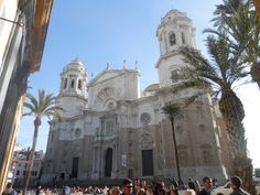 Cadiz Cathedral. The best thing about this cathedral is the incredible view from the tower.