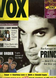 Prince, Vox magazine