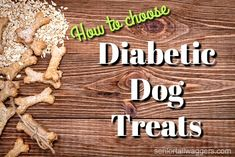 Diabetic dog treats can be tasty and nutritious. Find out what makes a treat suitable for dogs with diabetes, and see some of the best choices right here Dyi Dog Treats, Best Treats For Dogs, Gourmet Dog Treats, Homemade Dog Treats, Healthy Dog Treats, Diabetic Dog Treat Recipe, Diabetic Dog Food, Dog Treat Recipes, Dog Food Recipes