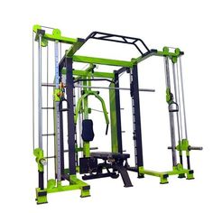 Smith Cage for Sale, Buy Combo Smith Machine Online Lower Body Muscles, Major Muscles, Hammer Strength Power Rack, Home Gym Machine, Cages For Sale, Gym Workouts, Training Workouts, Multi Gym, Smith Machine