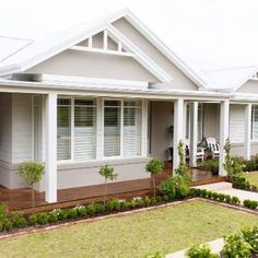 'Building my dream Hamptons home has been an incredible journey.' @ourhamptonstyleforeverhome shares the story of creating her dream home, along with her top DIY tips! To read more, click the link in our bio! #australianarchitecture #architecture #exterior #exteriordesign #scyonwalls
