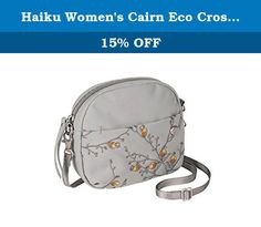Haiku Women's Cairn Eco Crossbody Bag, Poppy Mist. Inspired by stacks of stones used to mark trails, the Cairn is a clean and understated cross body bag ideal for travel and everyday wear. Its wide zip opening and simple organization allow for quick access to your passport and other necessities, and its compact size makes it easy to stash inside a Weekender - not that you'll want to take it off.