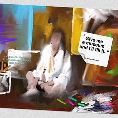 """#earlier_work by #artist #gigi_esmilla_howarth #Amsterdam fb.com/ColoursandBeyond #art_quote by #Picasso"" Photo taken by @gigi_esmilla_howarth on Instagram, pinned via the InstaPin iOS App! http://www.instapinapp.com (06/23/2015)"
