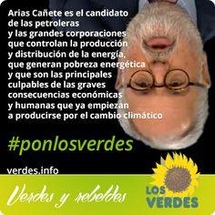 Cañete es el candidato de las petroleras y las grandes corporaciones que controlan la producción y distribución de la energía...