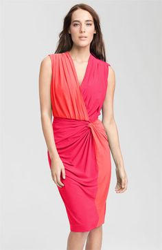 Maggy London Two Tone Sleeveless Jersey Dress | Nordstrom