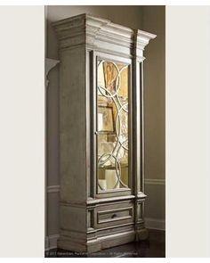 Habersham American Treasures Nantucket Display Cabinet 01-2741 Finish: Tapioca