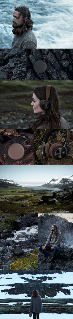 A collection of speakers and headphones inspired by the colours found in the stark and untamed landscape of the Nordic nature…