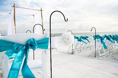Classic beach wedding (destin, fl)