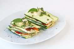 For the Love of Food: Raw Zucchini and Tomato Lasagna