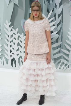CHANEL HAUTE COUTURE SPRING SUMMER 2015 COLLECTION  PARIS FASHION WEEK ZsaZsa Bellagio – Like No Other: Chanel Couture