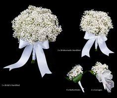 ~prenez-tout !!! bouquet de mariée, bouquet demoiselle d'honneur, boutonnière......