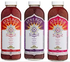 """I have always LOVED kombucha, and even made it at home until I went on vacation and left a batch unattended and it """"exploded"""" all over my laundry room.  Just last week I found GT's Synergy with CHIA SEEDS in it!  It's awesome!  Who thought it would be so much fun to chew your drinks?  I haven't had so much fun since """"bubble tea!"""""""