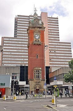 Nottingham Victoria Railway Station Clock which was used by the Great Central…