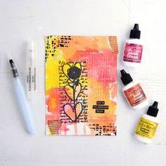 And So the Adventure Begins — Color Burst Project   Free Tutorial from The Studio