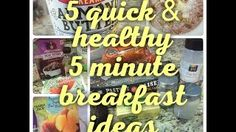 Thriving on Grace - YouTube - quick deathly breakfast ideas