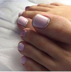 Beautiful Feet Nail Art Ideas for Brides - isishweshwe