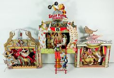 """Vintage Circus - To see more of my art, download free images, and learn new techniques checkout my Blog """"Artfully Musing"""" at http://artfullymusing.blogspot.com"""