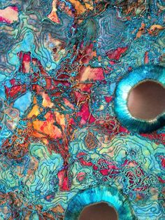 pinterest textile art - Yahoo Image Search Results