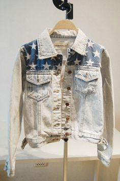 Love this denim jacket