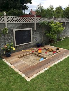 18 Fun Backyard Kids Design Ideas for Summer Outdoor Playground Backyard Hammock, Cozy Backyard, Backyard Playhouse, Fire Pit Backyard, Backyard For Kids, Backyard Landscaping, Garden Kids, Landscaping Ideas, Playground Slide