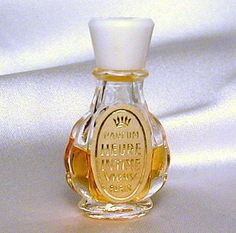 HEURE INTIME Vintage Perfume VIGNY Micro Mini Bottle Parfum Miniature