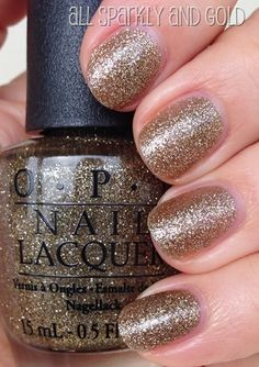 OPI All Sparkly & Gold | #EssentialBeautySwatches | BeautyBay.com