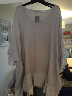 8d9fe26f6f2ec4 Bnwt Made In Italy Laglenlook Linen Top One Size  fashion  clothes  shoes