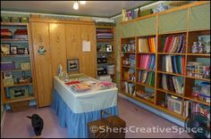 Sher's Creative Space: Tour My Sewing Studio