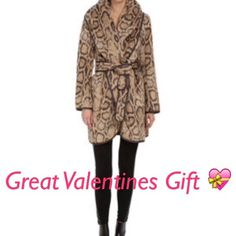 DVF Leopard Print Wrap Coat This is a beautifully thick and warm coat by DVF. Size Medium. It wraps generously and could fit a size large too, in my opinion. Measurements taken on request. Matching fabric belt. New with tags!! Gorgeous!! ❤️ Diane von Furstenberg Jackets & Coats Blazers