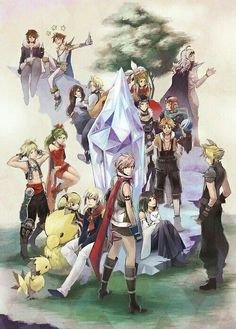I don't care about what people say about Final Fantasy. All of them are awesome in it's own way and is very fun.