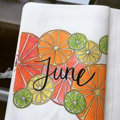 summer bullet journal ideas