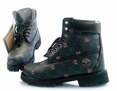 Barato Timberland Botas Mujeres - Timberland 6 Inch Botas Verde Negro  Timberland Waterproof Boots bf67c89711e