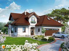 Projekt domu Dom w rukoli (G2) - ARCHON+ Modern Bungalow House, Home Fashion, Great Places, Architecture Design, House Plans, Interior Decorating, Floor Plans, Mansions, House Styles