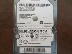Samsung ST750LM022 HN-750MBB REV.A Site:MIT 750gb Sata (Donor for Parts) - Effective Electronics