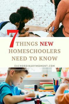 Whether homeschooling was your plan all along, or it is the only option available to you right now, here are some important things you need to know! #homeschool #homeschoolmom #advicefornewhomeschoolers #whathomeschoolersneedtoknow #christianhomeschooler