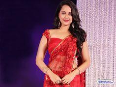 #sonakshisinha #sarees #RED #bollywood